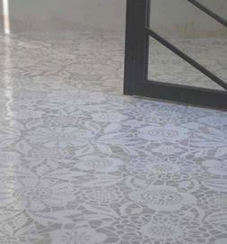 Pavimento effetto pizzo_stylefile.com